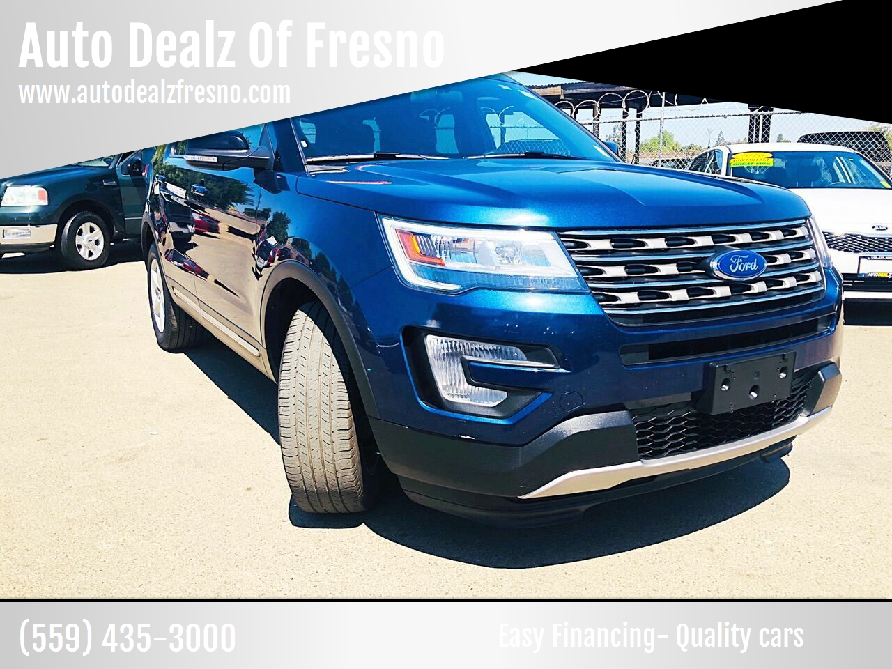 Pre-Owned 2017 Ford Explorer XLT AWD 4dr SUV