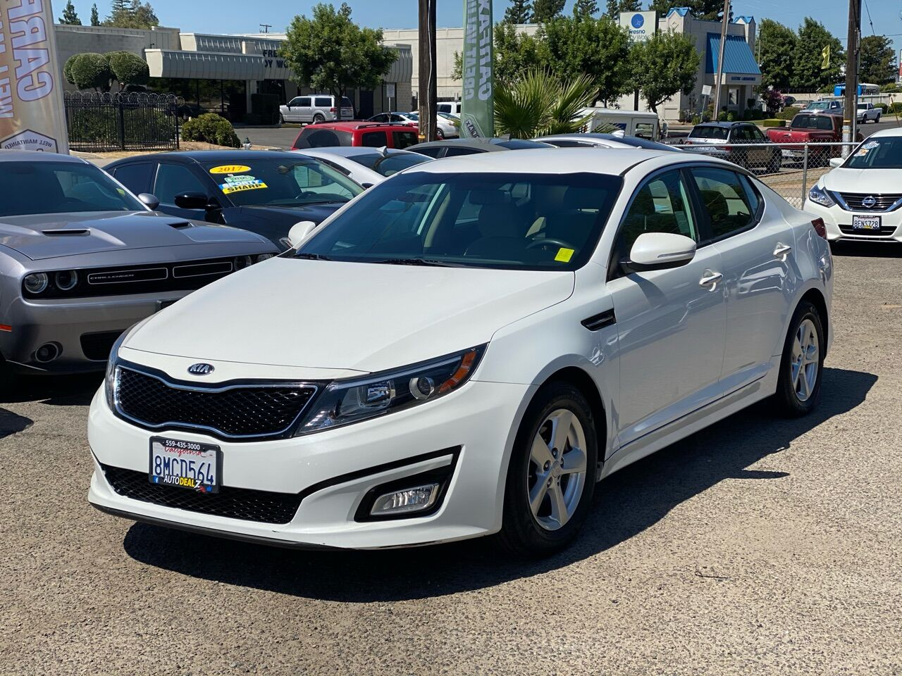 Pre-Owned 2015 Kia Optima LX 4dr Sedan