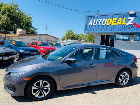 Pre-Owned 2016 Honda Civic LX 4dr Sedan CVT Front Wheel Drive Sedan