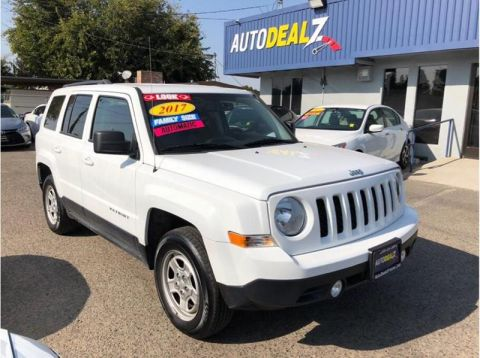 Pre-Owned 2017 Jeep Patriot Sport SUV 4D Four Wheel Drive SUV