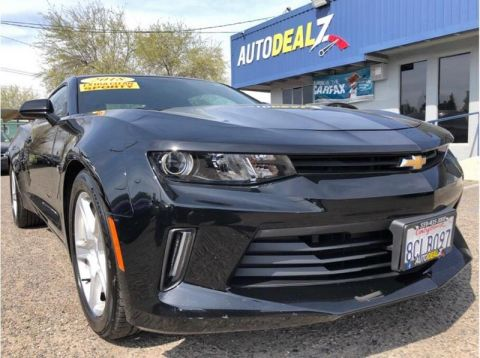 Pre-Owned 2018 Chevrolet Camaro LT 2dr Coupe w/1LT Rear Wheel Drive Coupe