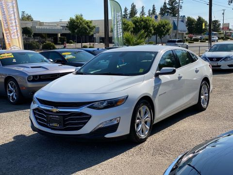 Pre-Owned 2019 Chevrolet Malibu LT 4dr Sedan Front Wheel Drive Sedan