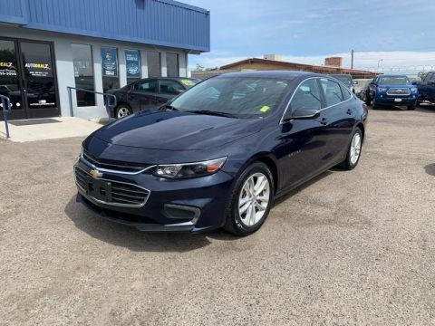 Pre-Owned 2017 Chevrolet Malibu LT 4dr Sedan Front Wheel Drive Sedan