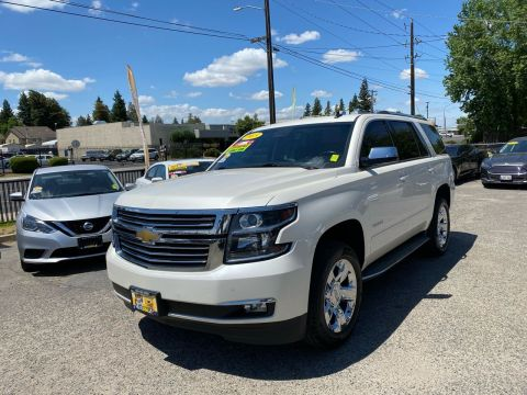 Pre-Owned 2015 Chevrolet Tahoe LTZ 4x2 4dr SUV