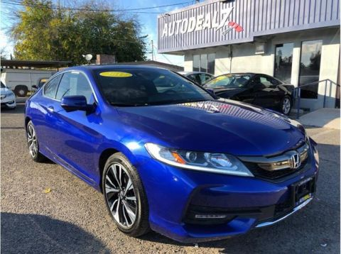 Pre-Owned 2017 Honda Accord EX w/Honda Sensing 2dr Coupe Front Wheel Drive Coupe