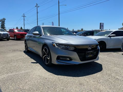 Pre-Owned 2019 Honda Accord Sport 4dr Sedan (1.5T I4 CVT) Front Wheel Drive Sedan