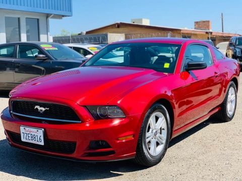 Pre-Owned 2014 Ford Mustang V6 Premium Coupe 2D Coupe