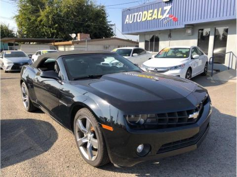 Pre-Owned 2012 Chevrolet Camaro LT 2dr Convertible w/1LT Rear Wheel Drive Convertible