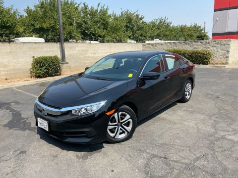 Pre-Owned 2017 Honda Civic LX 4dr Sedan CVT