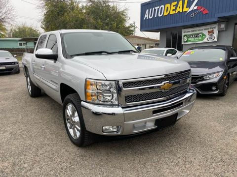 Pre-Owned 2012 Chevrolet Silverado 1500 LT 4x2 4dr Crew Cab 5.8 ft. SB Rear Wheel Drive Pickup Truck