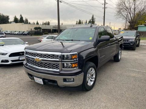 Pre-Owned 2015 Chevrolet Silverado 1500 LT Pickup 4D 5 3/4 ft Four Wheel Drive Pickup Truck