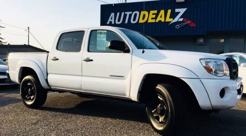 Pre-Owned 2011 Toyota Tacoma PreRunner 4x2 4dr Double Cab 5.0 ft SB 4A Rear Wheel Drive Pickup Truck